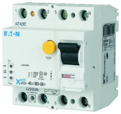 Eaton FI-Schalter digital 4-polig 40A 300mA DRCM-40/4/03-S/A+