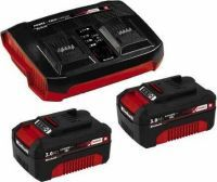 Einhell PXC-Starter-Kit 2x 3,0Ah & Twincharger Kit