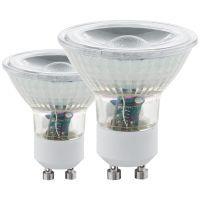 EGLO Leuchtmittel -GU10-LED COB 3,3W 3000K 2 STK (11475)