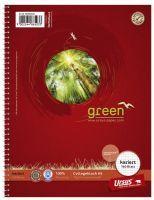 COLLEGEBLOCK URSUS GREEN A5 160BLATT