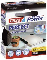 TESA Extra Power 19mmx2.75m 2.75m Schwarz 1Stück(e) Tonbandkassette