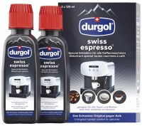 Durgol Swiss Espresso Entkalker DED18, 250ml (2x 125ml)