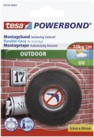 TESA 55750-00001-03 19mm x1,5m Montageband Outdoor grün