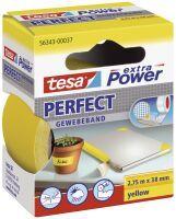 TESA Extra Power 38mmx2.75m 2.75m Gelb 1Stück(e) Tonbandkassette
