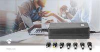 Nedis Universal-Netzteil / Euro / Typ C (CEE 7/16) / 40 W / 12 VDC / 13 VDC / 14 VDC / 15 VDC / 16 VDC / 17 VDC / 18 VDC / 18.5 VDC / 19 VDC / 19.5 VDC / 20 VDC / 21 VDC / 22 VDC / 23 VDC / 24 VDC / Ausgangsstecker Typ: 3.5 x 1.1 mm / 3.5 x 1.35 mm /
