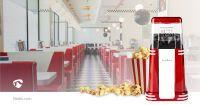 Nedis Popcorngerät / 1200 W / 2 - 4 min / Red / Weiss