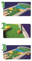 Game & More G&M Pitpat Tisch-Minigolf