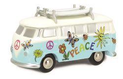 """Schuco Piccolo Pic. VW T1 """"Surferbus"""""""
