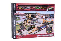 Majorette Creatix Lamborghini Race + 5 Cars