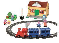 PlayBIG Bloxx Peppa Train Station