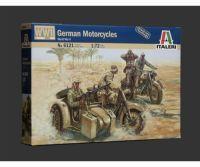 1:72 WWII Deutsche Motorräder