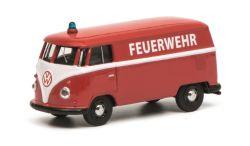Schuco VW T1 Kasten FEUERWEHR 1:64