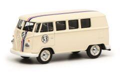 Schuco VW T1 Bus #53, weiß 1:64