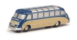 Schuco Piccolo Pic.Setra S8 Bus, beige-blau