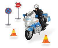 Dickie Police Bike Set