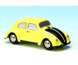 Schuco Piccolo Pic. VW Käfer gelb/schwarz