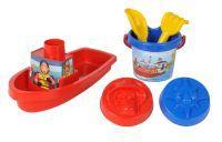 Simba Sam Boot gefüllt