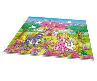 Noris XXL Puzzle Prinzessin im Zauberwald
