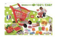 Ecoiffier Supermarkt-Trolley + Kasse