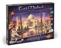 Malen nach Zahlen MNZ - Taj Mahal-Denkmal der Liebe(Tript)