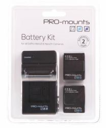 PRO-mounts Battery Kit Gopro H4