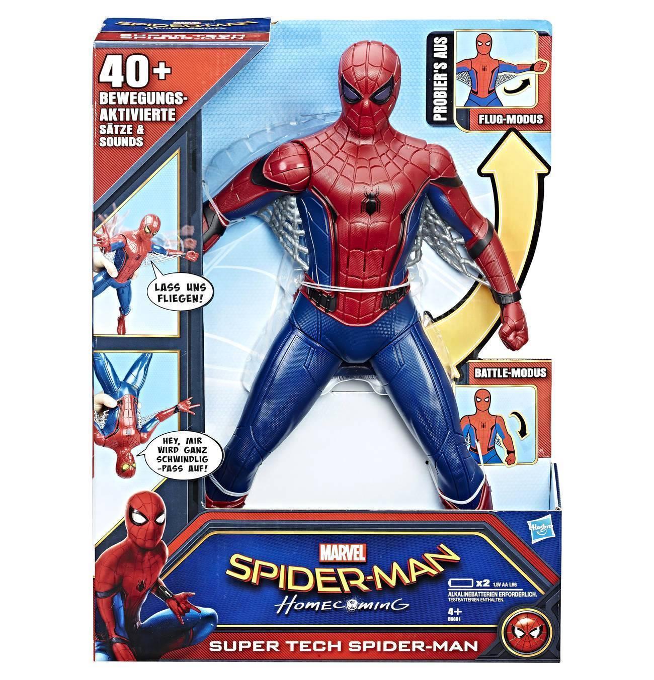 SPIDERMAN SUPER TECH B9691