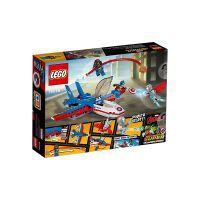 Lego 76076 Marvel Super Heroes Spielset - Captain America: Düsenjet