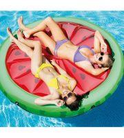 Intex Pool Intex 56283 Grün - Rot PVC Schwimmende Insel Aufblasbares Spielzeug für Pool & Strand