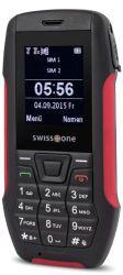 Doro SX 567 1.7Zoll 99g Schwarz - Rot Einsteigertelefon