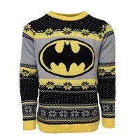 Batman Logo Xmas Pullover M