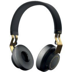 JABRA MOVE Wireless Bluetooth Kopfhörer schwarz/gold