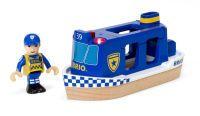 BRIO Polizeiboot mit Licht und Sound (33820)