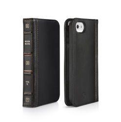 Twelve South BookBook - Book Cover für iPhone 5/5s/SE, schwarz