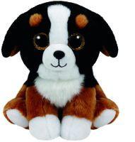 TY Roscoe Spielzeug-Hund Schwarz - Braun - Weiß