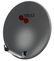 Triax Sat Spiegel Stahl TDS 78 A-1 anthrazit