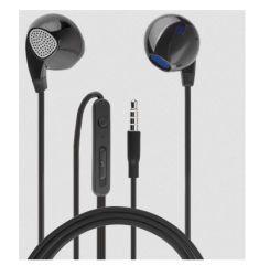 4smarts In-Ear Stereo Headset Melody 3,5mm Klinke, Schwarz