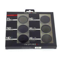 PolarPro Filter 6er Set für DJI Zenmuse X3 / Osmo / Inspire