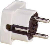 ABL Sursum SCHUKO-Winkelstecker Thermoplast weiß + Erdung CEE 7/VII