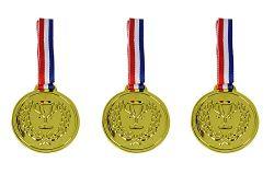 3 Medaillen zum Umhängen
