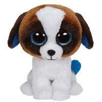 TY DUKE Spielzeug-Hund Schwarz - Blau - Braun - Weiß