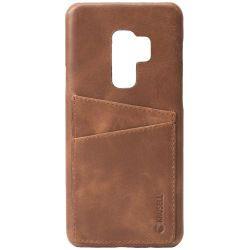 Krusell Sunne 2 Card Cover Galaxy S9+, Vintage Cognac