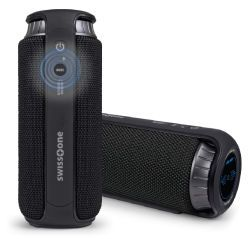 swisstone BX 500 Bluetooth-Lautsprecher (schwarz-schwarz)