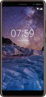 Nokia 7 plus Dual SIM black/copper Smartphone