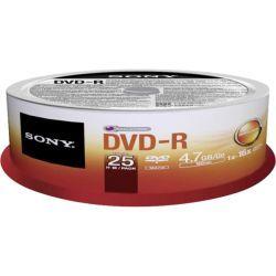 Sony 10 x DVD-R 4.7GB Spindle (10DMR47SP)
