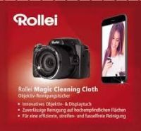 Rollei Lens Cleaning Cloths 5 pieces 15 x 15 cm (ROL27012)