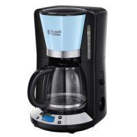 Russell Hobbs Kaffeemaschine Colours Plus+ Heavenly Blue Digitale Glas 24034-56
