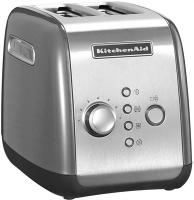 Toaster 2-Scheiben KITCHENAID kontur-silber (5KMT221ECU)