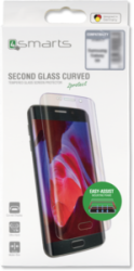 4smarts Second Glass Curved Easy-Assist Galaxy S8, schwarz