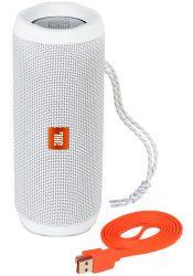 JBL Flip 4 Bluetooth Speaker white (JBLFLIP4WHT)