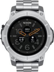 Nixon Smart Watch Mission SS, Silver